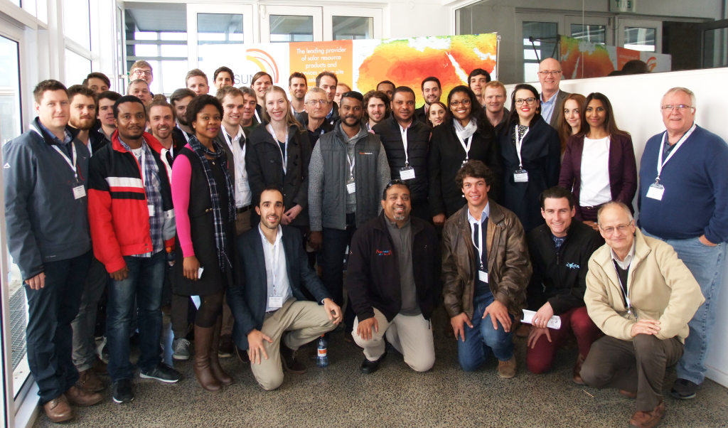 Delegates and speakers at the 5th Annual STERG SolarPACES Symposium in Stellenbosch (14 July 2017)